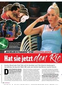 """Titelbild der Ausgabe 47/2019 von """"BACHELOR IN PARADISE""""-STAR SAMANTHA JUSTUS: Hat sie jetzt den Richtigen gefunden?. Zeitschriften als Abo oder epaper bei United Kiosk online kaufen."""