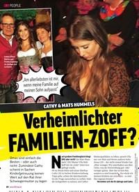 Titelbild der Ausgabe 50/2019 von Verheimlichter FAMILIEN-ZOFF?. Zeitschriften als Abo oder epaper bei United Kiosk online kaufen.
