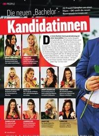 """Titelbild der Ausgabe 52/2019 von Die neuen """"Bachelor""""-: Kandidatinnen. Zeitschriften als Abo oder epaper bei United Kiosk online kaufen."""