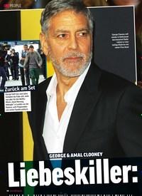 Titelbild der Ausgabe 2/2020 von GEORGE & AMAL CLOONEY: Liebeskiller: Ehrgeiz. Zeitschriften als Abo oder epaper bei United Kiosk online kaufen.