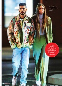 Titelbild der Ausgabe 5/2020 von GIGI HADID & ZAYN MALIK: So will sie ihn RETTEN. Zeitschriften als Abo oder epaper bei United Kiosk online kaufen.