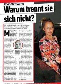 Titelbild der Ausgabe 10/2020 von HAYDEN PANETTIERE Warum trennt sie sich nicht?. Zeitschriften als Abo oder epaper bei United Kiosk online kaufen.