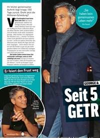 Titelbild der Ausgabe 12/2020 von GEORGE & AMAL CLOONE: GETR Monaten ENNT!. Zeitschriften als Abo oder epaper bei United Kiosk online kaufen.