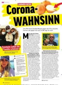 Titelbild der Ausgabe 12/2020 von CARMEN GEISS: Corona- WAHNSINN. Zeitschriften als Abo oder epaper bei United Kiosk online kaufen.