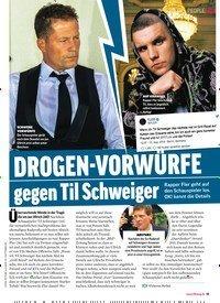 Titelbild der Ausgabe 35/2018 von DROGEN-VORWÜRFE gegen Til Schweiger. Zeitschriften als Abo oder epaper bei United Kiosk online kaufen.