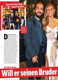 Titelbild der Ausgabe 44/2018 von Tom hat jetzt eine neue Familie …: TOM KAULITZ Will er seinen Bruder loswerden?. Zeitschriften als Abo oder epaper bei United Kiosk online kaufen.