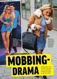 Titelbild der Ausgabe 17/2019 von EVELYN BURDECKI: MOBBING- DRAMA. Zeitschriften als Abo oder epaper bei United Kiosk online kaufen.