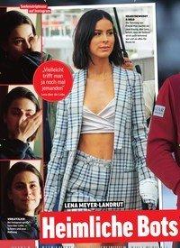 Titelbild der Ausgabe 26/2019 von LENA MEYER-LANDRUT: Heimliche Bots chaft an Mats?. Zeitschriften als Abo oder epaper bei United Kiosk online kaufen.