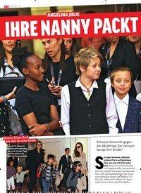 Titelbild der Ausgabe 28/2019 von ANGELINA JOLIE: Ihre Nanny packt aus!. Zeitschriften als Abo oder epaper bei United Kiosk online kaufen.