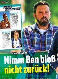 Titelbild der Ausgabe 11/2020 von JENNIFER GARNER: Nimm Ben bloß nicht zurück!. Zeitschriften als Abo oder epaper bei United Kiosk online kaufen.