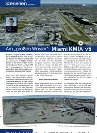 """Titelbild der Ausgabe 5/2019 von Szenerien Payware: Am """"großen Wasser"""":Miami KMIA v5. Zeitschriften als Abo oder epaper bei United Kiosk online kaufen."""