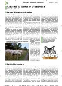 Titelbild der Ausgabe 4/2018 von Aktuelles zu Wölfen in Deutschland. Zeitschriften als Abo oder epaper bei United Kiosk online kaufen.