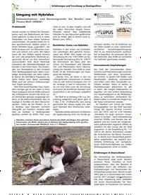 Titelbild der Ausgabe 2/2019 von Umgang mit Hybriden. Zeitschriften als Abo oder epaper bei United Kiosk online kaufen.