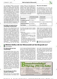 Titelbild der Ausgabe 3/2019 von Welchen Einfluss übt der Klimawandel auf den Bergwald aus?. Zeitschriften als Abo oder epaper bei United Kiosk online kaufen.