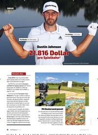 Titelbild der Ausgabe 20/2021 von Dustin Johnson: 21.816 Dollar pro Spielbahn*. Zeitschriften als Abo oder epaper bei United Kiosk online kaufen.