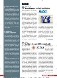 Titelbild der Ausgabe 9/2020 von Fuba OVZ 102:Koaxialkabel einfach verbinden. Zeitschriften als Abo oder epaper bei United Kiosk online kaufen.
