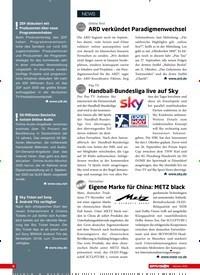 Titelbild der Ausgabe 10/2020 von Pay-TV: Handball-Bundesliga live auf Sky. Zeitschriften als Abo oder epaper bei United Kiosk online kaufen.