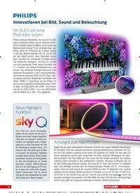 Titelbild der Ausgabe 10/2020 von PHILIPS: Innovationen bei Bild, Sound und Beleuchtung. Zeitschriften als Abo oder epaper bei United Kiosk online kaufen.