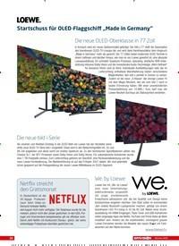 """Titelbild der Ausgabe 10/2020 von LOEWE: Startschuss für OLED-Flaggschiff """"Made in Germany"""". Zeitschriften als Abo oder epaper bei United Kiosk online kaufen."""