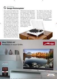 Titelbild der Ausgabe 1/2021 von Sonoro Platinum: Design-Plattenspieler. Zeitschriften als Abo oder epaper bei United Kiosk online kaufen.