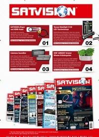 Titelbild der Ausgabe 1/2021 von SATVISION. Zeitschriften als Abo oder epaper bei United Kiosk online kaufen.