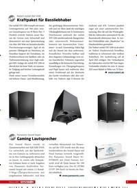 Titelbild der Ausgabe 2/2021 von Nubert nuSub XW-1200: Kraftpaket für Bassliebhaber. Zeitschriften als Abo oder epaper bei United Kiosk online kaufen.