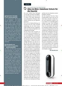 Titelbild der Ausgabe 2/2021 von Arlo Essential Wire-Free Video Doorbell: Alles im Blick: Kabelloser Schutz für die Haustür. Zeitschriften als Abo oder epaper bei United Kiosk online kaufen.
