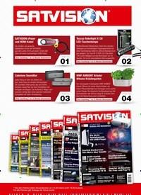 Titelbild der Ausgabe 2/2021 von SATVISION. Zeitschriften als Abo oder epaper bei United Kiosk online kaufen.