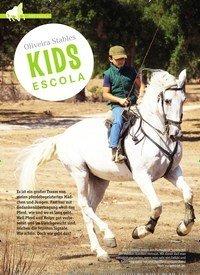 Titelbild der Ausgabe 1/2019 von Kids Escola Oliveire Stables KIDS ESCOLA. Zeitschriften als Abo oder epaper bei United Kiosk online kaufen.
