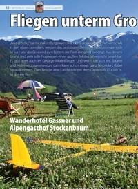 Titelbild der Ausgabe 19/2019 von Fliegen unterm Gro ßvenediger. Zeitschriften als Abo oder epaper bei United Kiosk online kaufen.