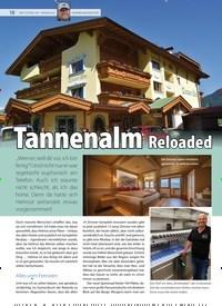 Titelbild der Ausgabe 19/2019 von Tannenalm Reloaded. Zeitschriften als Abo oder epaper bei United Kiosk online kaufen.