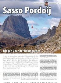 Titelbild der Ausgabe 19/2019 von Sasso Pordoij. Zeitschriften als Abo oder epaper bei United Kiosk online kaufen.