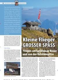 Titelbild der Ausgabe 19/2019 von Kleine Flieger GROSSER SPASS. Zeitschriften als Abo oder epaper bei United Kiosk online kaufen.