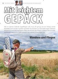 Titelbild der Ausgabe 19/2019 von Mit leichtem GEPÄCK. Zeitschriften als Abo oder epaper bei United Kiosk online kaufen.