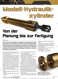 Titelbild der Ausgabe 8/2018 von Modell-Hydraulikzylinder: Von der Planung bis zur Fertigung. Zeitschriften als Abo oder epaper bei United Kiosk online kaufen.