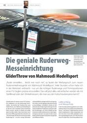 Titelbild der Ausgabe 17/2019 von Die geniale Ruderweg-Messeinrichtung. Zeitschriften als Abo oder epaper bei United Kiosk online kaufen.