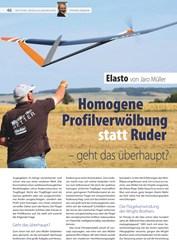 Titelbild der Ausgabe 17/2019 von Homogene Profilverwölbung statt Ruder – geht das überhaupt?. Zeitschriften als Abo oder epaper bei United Kiosk online kaufen.