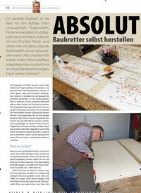 Titelbild der Ausgabe 20/2020 von ABSOLUT gerade Baubretter selbst herstellen. Zeitschriften als Abo oder epaper bei United Kiosk online kaufen.