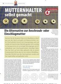 Titelbild der Ausgabe 20/2020 von Die Alternative zur Anschraub-oder Einschlagmutter. Zeitschriften als Abo oder epaper bei United Kiosk online kaufen.