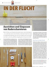 Titelbild der Ausgabe 20/2020 von Ausrichten und Einpassen von Ruderscharnieren. Zeitschriften als Abo oder epaper bei United Kiosk online kaufen.