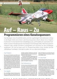 Titelbild der Ausgabe 21/2020 von FMT-EXTRA: Auf - Raus - Zu Programmieren eines Kanalsequenzers. Zeitschriften als Abo oder epaper bei United Kiosk online kaufen.