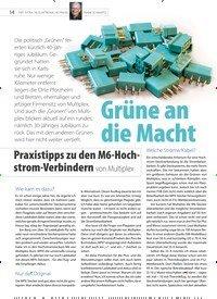 Titelbild der Ausgabe 21/2020 von FMT-EXTRA: Grüne an die Macht. Zeitschriften als Abo oder epaper bei United Kiosk online kaufen.
