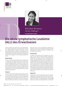 Titelbild der Ausgabe 2/2019 von Die akute lymphatische Leukämie (ALL) des Erwachsenen. Zeitschriften als Abo oder epaper bei United Kiosk online kaufen.
