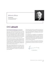 Titelbild der Ausgabe 4/2019 von DKG aktuell. Zeitschriften als Abo oder epaper bei United Kiosk online kaufen.