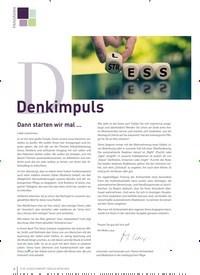 Titelbild der Ausgabe 1/2020 von Denkimpuls. Zeitschriften als Abo oder epaper bei United Kiosk online kaufen.