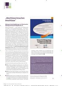 """Titelbild der Ausgabe 1/2020 von """"Abschlüsse brauchen Anschlüsse"""". Zeitschriften als Abo oder epaper bei United Kiosk online kaufen."""