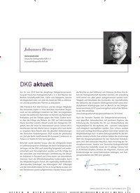 Titelbild der Ausgabe 3/2019 von DKG aktuell. Zeitschriften als Abo oder epaper bei United Kiosk online kaufen.