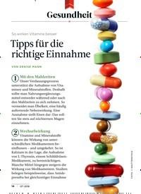 Titelbild der Ausgabe 7/2018 von Gesundheit: So wirken Vitamine besser: Tipps für die richtige Einnahme. Zeitschriften als Abo oder epaper bei United Kiosk online kaufen.