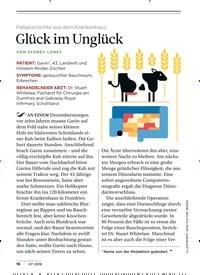 Titelbild der Ausgabe 7/2018 von Fallgeschichte aus dem Krankenhaus: Glück im Unglück. Zeitschriften als Abo oder epaper bei United Kiosk online kaufen.