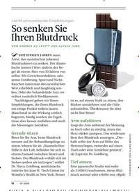 Titelbild der Ausgabe 7/2018 von Leicht umzusetzende Empfehlungen: So senken Sie Ihren Blutdruck. Zeitschriften als Abo oder epaper bei United Kiosk online kaufen.
